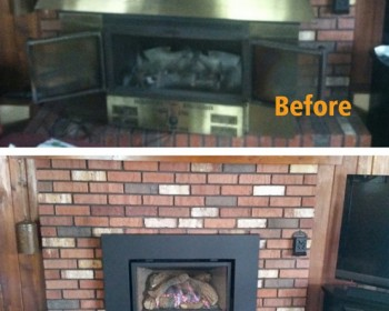 Weber Fireplace Transformation